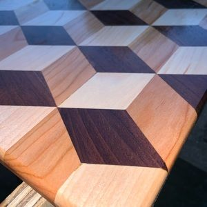 Other - Handcrafted custom cutting board 3-D design